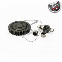 Sekundärgetriebe Malossi 14/47 Piaggio (gelagert)