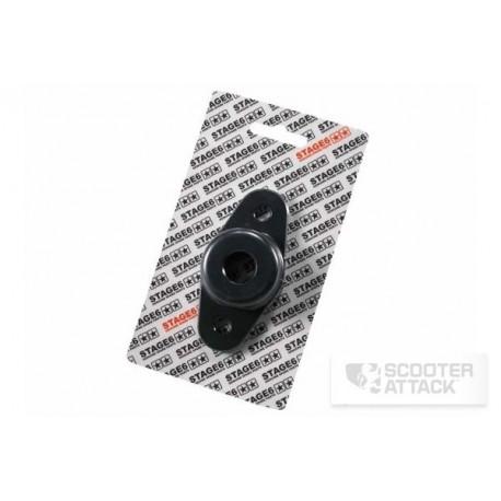 Adapter für Stage6 R/T Stoßdämpfer, Piaggio ZIP SP, vorne