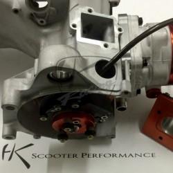 Montagearbeiten Rennmotoren