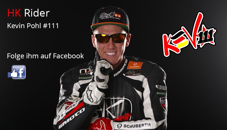 Kevin Pohl #111 auf Facebook